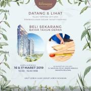 open house apartemen foresque residence jakarta selatan simatupang