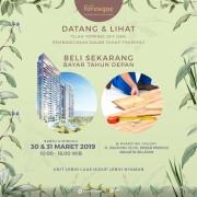 open house foresque residence apartemen jakarta selatan